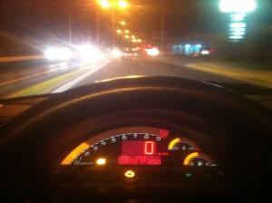 Πηγαίνοντας στο Βασίλη με 90 km/h